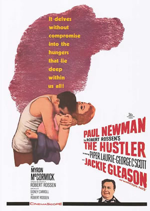 The Hustler - Movie Posters from the 1960s