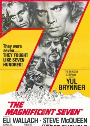 The Magnificent Seven - Movie Posters from the 1960s