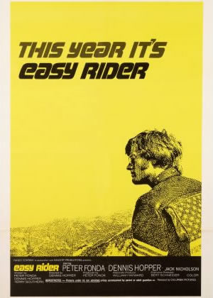 Easy Rider - Movie Posters from the 1960s