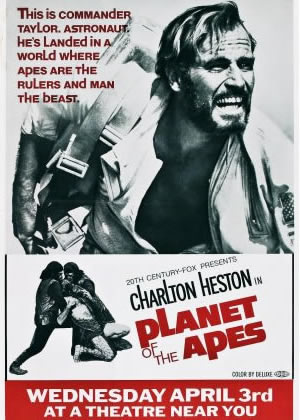 Planet of the Apes - Movie Posters from the 1960s