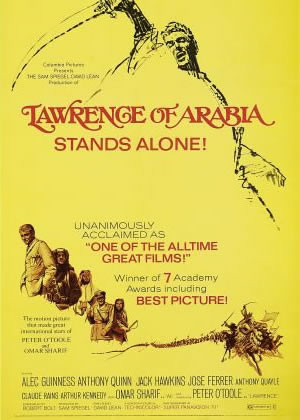 Lawrence of Arabia - Movie Posters from the 1960s