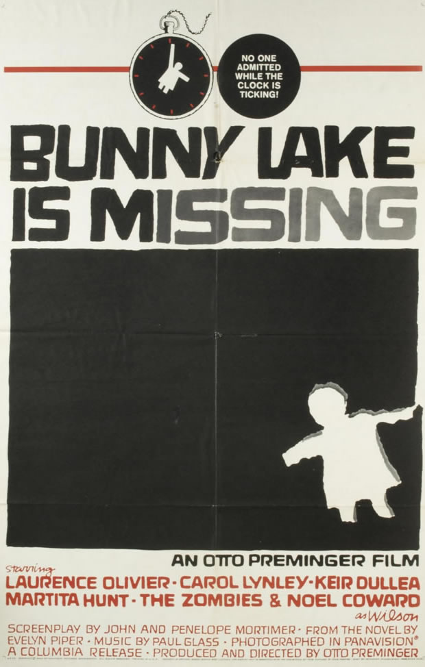 Bunny Lake - Movie Posters from the 1960s