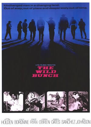 The Wild Bunch - Movie Posters from the 1960s