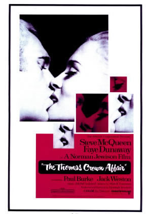 The Thomas Crown Affair - Movie Posters from the 1960s