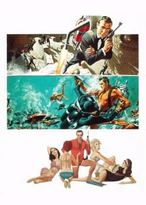 Thunderball - Movie Posters from the 1960s