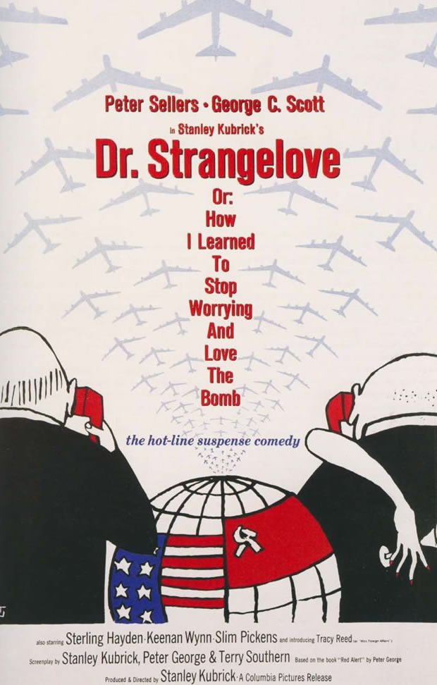 DR Strangelove - Movie Posters from the 1960s