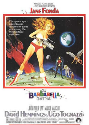 Barbarella - Movie Posters from the 1960s