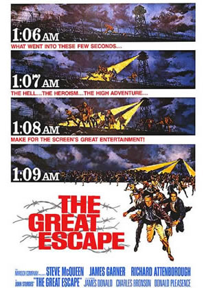 the Great Escape - Movie Posters from the 1960s
