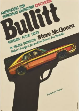 Bullitt - Movie Posters from the 1960s