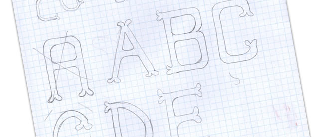 Make your own fonts