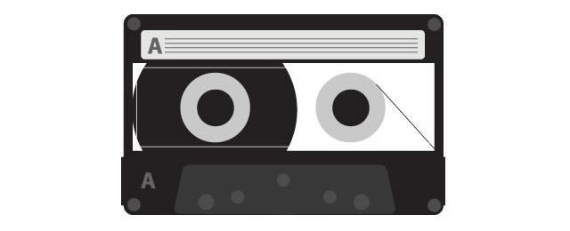 Vector Tape Cassette