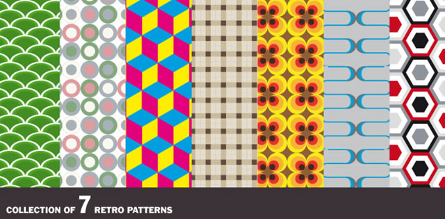 Retro Vector Pattern Pack
