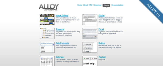 AlloyUI is a feature rich UI frameworks built on YUI 3