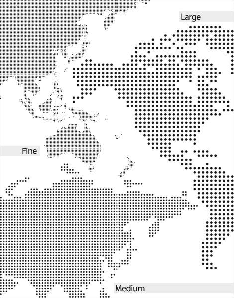 Dotted World Map (.ai format)