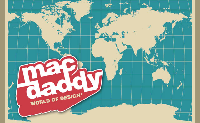 MacDaddy World Map (.ai format)