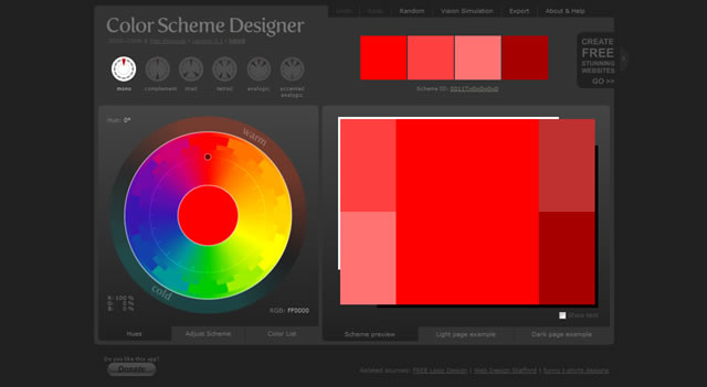 25 free color tools, apps and palette generators