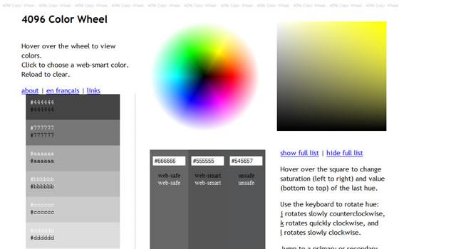 Ficml Color Wheel