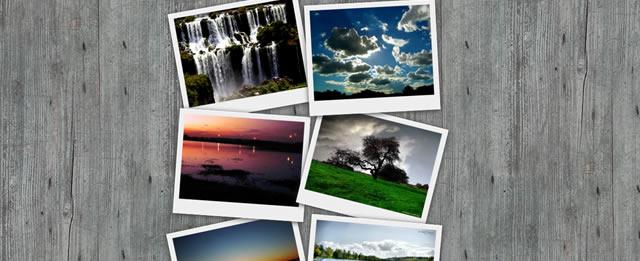 CSS Polaroid Photo Gallery