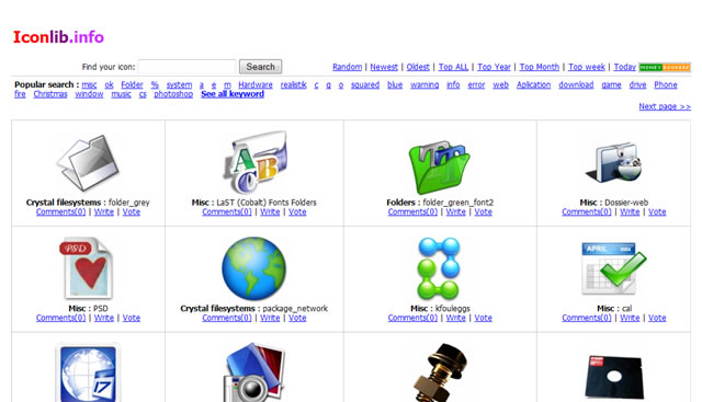 Top 10 Icon Search Engines and Libraries
