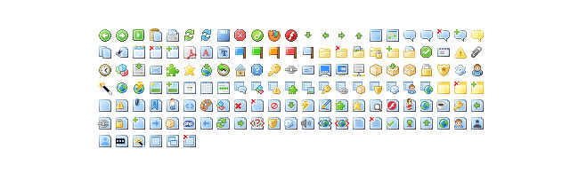 Mini Icons by FamFamFam