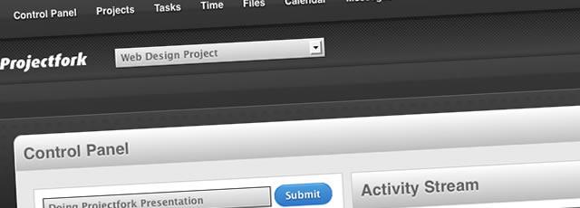 Projectfork Installation Screenshot