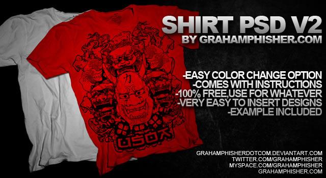 Shirt PSD v.2