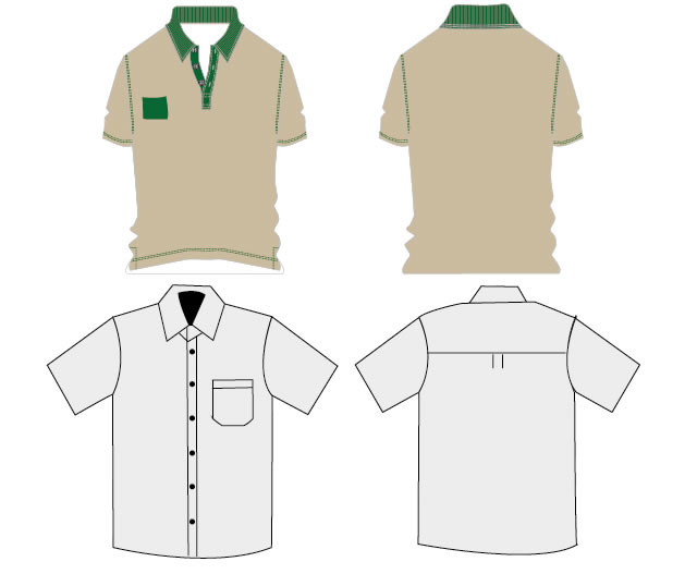 t shirt work uniforms ai