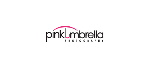 Pink Umbrella Photography Logo