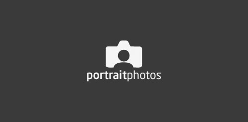 Portrait Photos Logo Photography Design