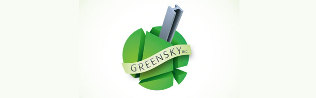 Greensky construction developer logo