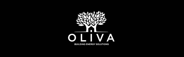 Green building logo design