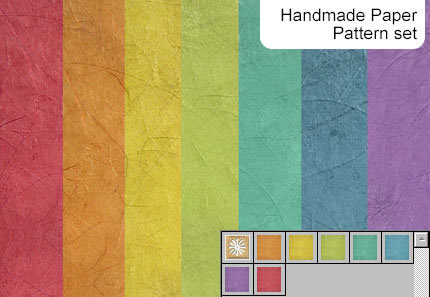 Handmade Paper - 7 Patterns PAT .jpg
