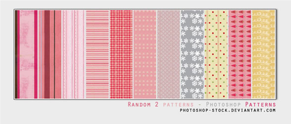 Random 2 - 15 Patterns .psd