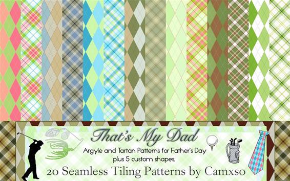 That's My Dad - 20 Patterns PAT