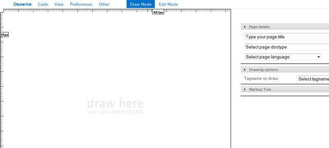 Drawter.com - DrawAble Markup Language