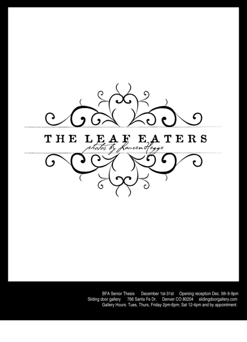 The Leaf Eaters Poster