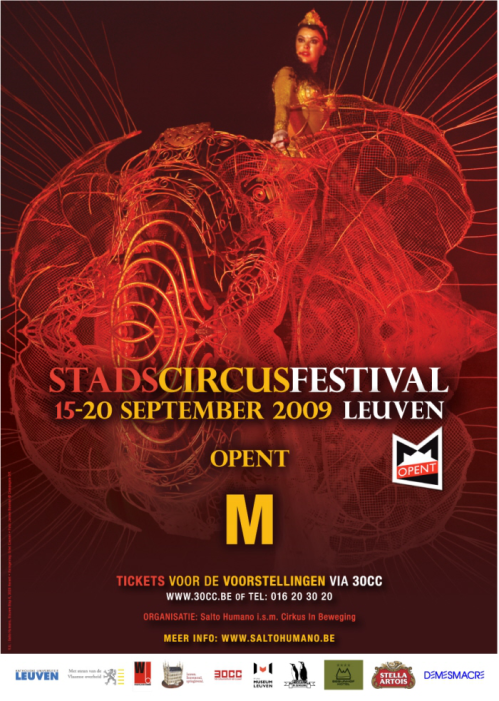 StadsCircus Festival Poster