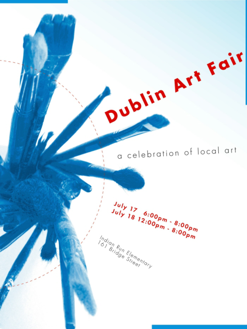 Dublin Art Fair Poster