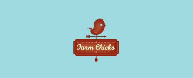 FarmChicks Logo animal