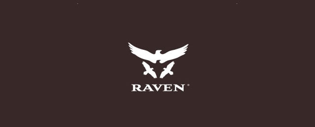Raven Logo animal