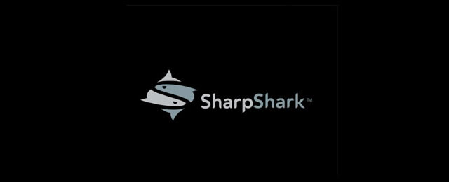 Sharp Shark Logo animal