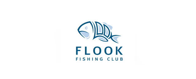 Flook Fishing Club Logo animal