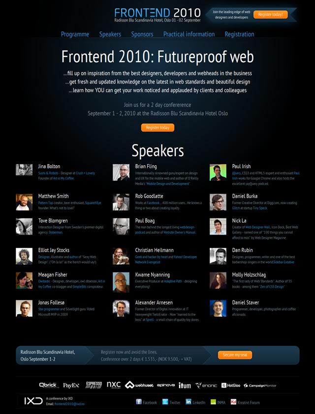 Frontend 2010: Futureproof Web