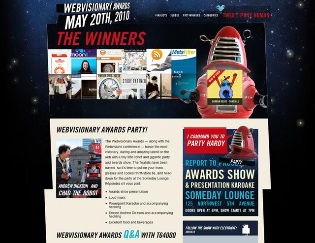 Webvisionary Awards