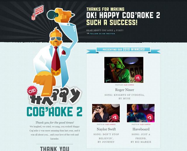 Happy Cog'aoke 2