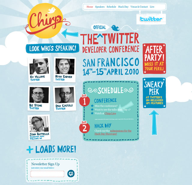 Chirp - The Official Twitter Developer Conference