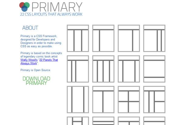 Primary CSS