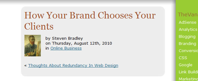 How Your Brand Chooses Your Clients