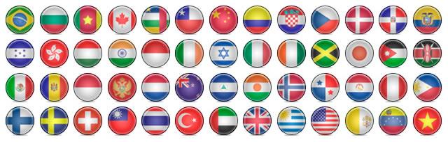 Ultimate Free Web Designer's Icon Set + Flag Icons