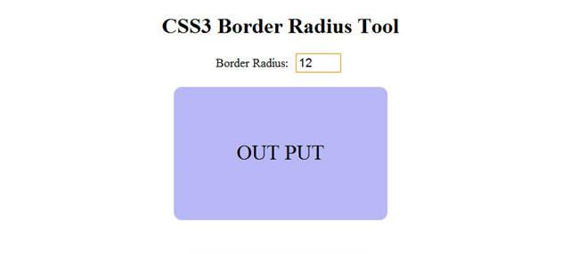 How To Develop CSS3 Border Radius Tool